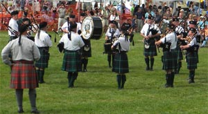 Kenmore and District Pipe Band